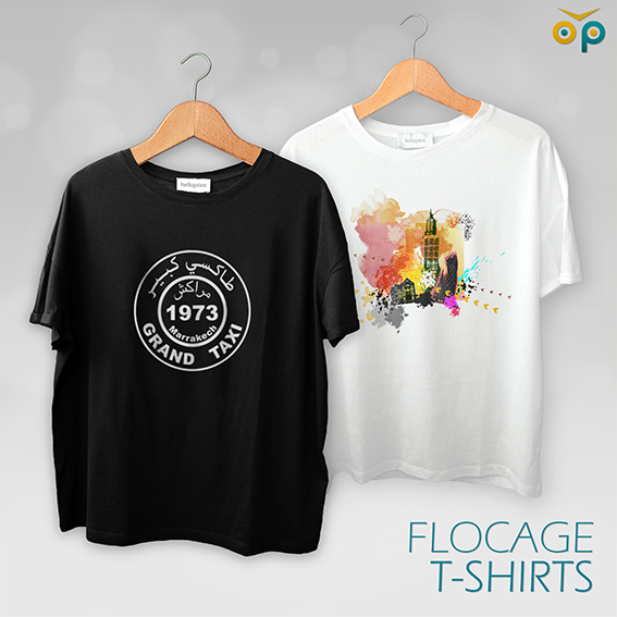 Flocage-T-shirts
